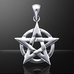 PENTACLE OVER CIRCLE