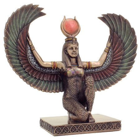 Winged Isis - Bronze