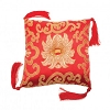SINGING BOWL CUSHION-RED