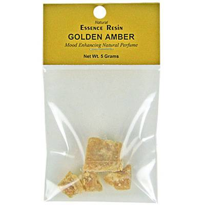 GOLDEN AMBER ESSENCE RESIN 5 GRAM PACK