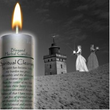 Spiritual Cleansing Blessed Herbal Candle