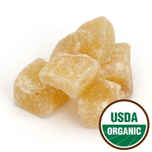 GINGER, CRYSTALLIZED Certified Organic  2 oz