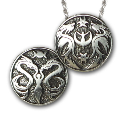 LADY & DRAGON DREAM LOCKET