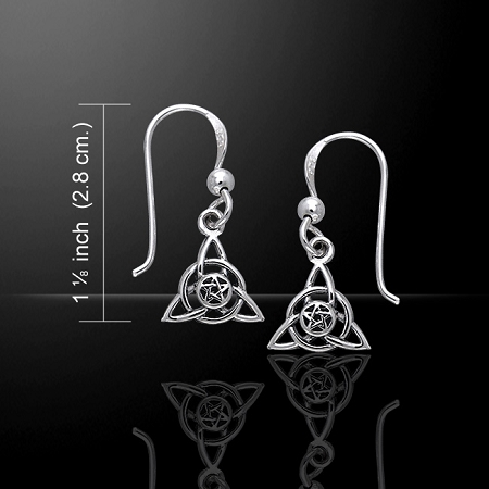 DRUID SILVER EARRINGS TER058