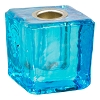 Mini Glass Candle Holder Blue