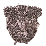 Cernunnos Plaque - Antique Finish