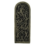 LORD OF THE DANCE PLAQUE (Stone finish)