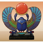 EGYPTIAN WINGED SCARAB-MINI