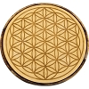 Wood Crystal Grid - Flower of Life