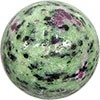 Gemstone Sphere - Ruby Zoisite 1.6