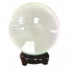 CRYSTAL BALL 11 CM (CLEAR)