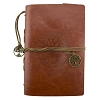 Leather Tree of Life Journal - Brown