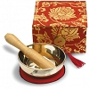 MEDITATION BOWL BOX: 3'' RED LOTUS Size: 3