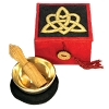 Trinity Knot Meditation Bowl Box