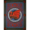 Cotton Single Tapestry Celtic Dragon
