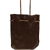 SOFT LEATHER MEDICINE POUCH - BROWN