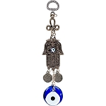 Glass Evil Eye Talisman Fatima