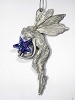 CELESTIAL GIFT--FAIRY WITH STAR (Pewter ornament; 3 5