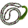 Mala Prayer Beads Ruby Zoisite