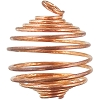 Tumbled Stone Cage Copper 1 inch