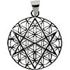FLOWER OF LIFE PENDANT - HOLY
