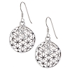 Round Flower of Life Earrings