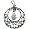 Celtic Pendant with assorted Stone