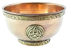 Triquetra Copper Offering Bowl - 4