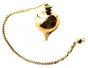 GOLD PLATED PENDULUM WITH COMPARTMENT