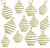 Square Treasure Spiral-Gold