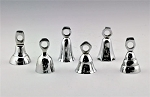 ASSORTED BELLS IN CHROME - 2