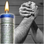 Turth and Justice Blessed Herbal Candle