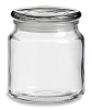 16 oz Jar with Flat Glass Lid