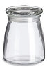 STUDIO GLASS JAR W/LID 14 oz