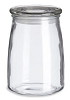 STUDIO GLASS JAR W/LID 20 OZ
