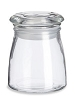 STUDIO GLASS JAR W/LID 4 OZ