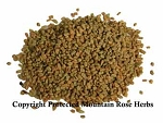 FENUGREEK SEEDS WHOLE Certified Organic & Kosher Certified 1 oz