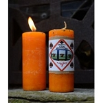 LUCKY 7 HOODOO CANDLE