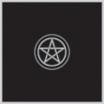 Pentacle Altar Cloth - Velvet  32