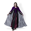 Purple Velvet Cloak Silver Satin Lining