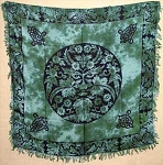 Greenman Altar Cloth  36