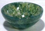 Moss Agate Altar Bowl