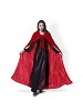Red Velvet Cloak Red Satin Lining