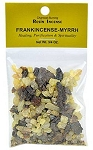 FRANKINCENSE & MYRRH RESIN INCENSE - 3/4 OZ