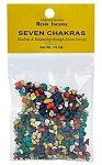 SEVEN CHAKRAS RESIN INCENSE - 1/2 OZ