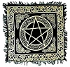 PENTACLE ALTAR CLOTH 18 x 18