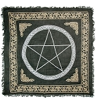 Pentacle in Gold & Sliver Altar - 36