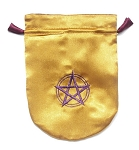 PENTAGRAM SATIN BAG