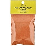NATURAL RED SANDALWOOD POWDER 1/2 OZ