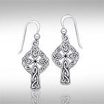 CELTIC CROSS DANGLE ER